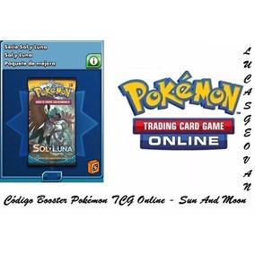 Códigos Booster Pokémon Tcg Online - Sun And Moon