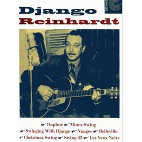 Django Reinhardt 8 Titres Guitar - Tablatura Partitura Libro
