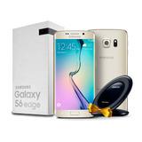 Celular Samsung Galaxy S6 Edge 128gb Gold + Cargado Wireless