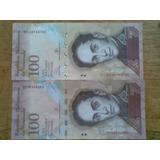 Capicuas De 100 Bolivares 2013