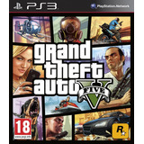 Gta 5 Grand Theft Auto V Idiom Españo Original Playstation 3