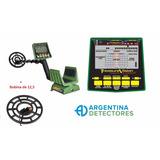 Detector De Metales Garrett Gti 2500 + Bobina De 12,5
