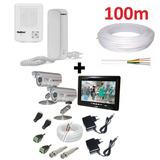 Vídeo Porteiro 2 Câmeras Com Monitor + Interfone Multitoc