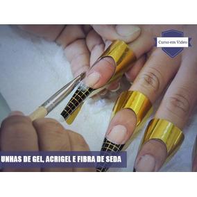Curso Unhas De Gel, Acrigel E Fibra De Seda Video Aula