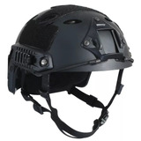 Capacete Tático Fast-b Black Airsoft Paintball
