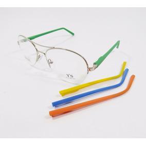 Lançamento Oculos Troca Haste Aviador (aro Nylon)