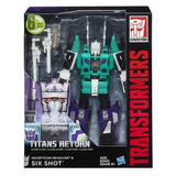 Transformers Generation Leader Titans Return Six Shot