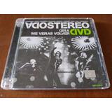 Soda Stereo Gira Me Veras Volver Dvd Doble + Entrada River