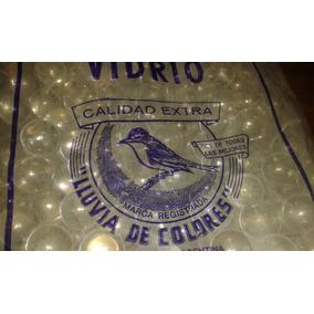 Bolitas / Canicas X400 Unidades Transparentes 100% Esfericas