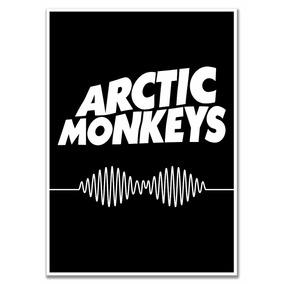 Poster Arctic Monkeys Tamanho A4 Sem Moldura