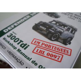 Manual Lr Defender 300tdi Land Rover Em Português Impresso !