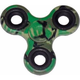 Fidget Hand Spinner Camuflaje Soldado Anti Estres Ansiedad
