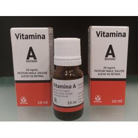 Vitamina A (arovit) Anti Rugas A. Envelhecimento 10 Ml