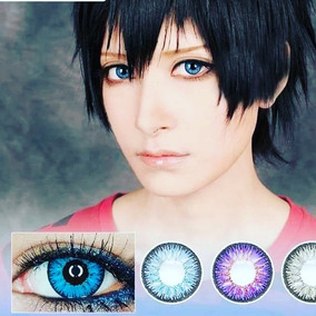 Pupilentes Azules Cosplay Pupilente Disfraz Lenses Azules