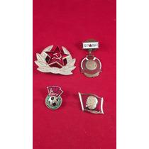 Condecoraciones Y Pin - Bronce C/esmaltes De Unión Sovietica