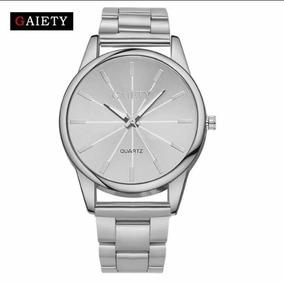 Relógio Feminino Gaiety Quartzo Aço Inoxidável Com Caixa