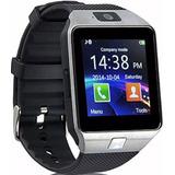 Reloj Smartwatch Inteligente Dz09 Sim Card Android Celular