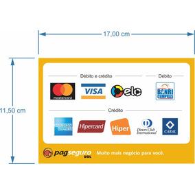 Adesivo Cartao De Credito Mastercard - Pagseguro