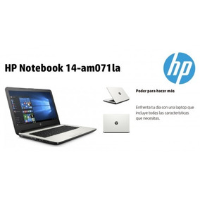 Laptop Liviana Hp Intel, 4gb,500gb,14 ,bateria 6hrs, W10,