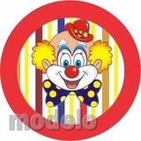 Kit Fest Infantil Personalizado 195 Adesivo Circo Palhaço 24