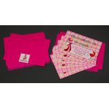50 Convites Para Chá De Bebê 7 X 10 Com Envelopes E Adesivos