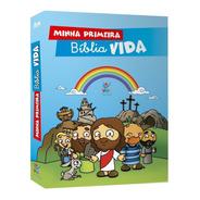 Livro Minha Primeira Bíblia Vida Infantil Crianças 277pg