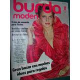 Revista Burda Con Moldes Ropa Moda Costura Confeccion 11/81