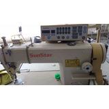 Máquina De Costura Reta Eletrônica - Sunstar E Zoje