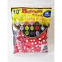 100 Balão,bexiga,modelo C/ Vermelho Bolinha Branca Promoção
