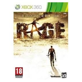 Juego Rage Edicion Especial De Xbox 360 Original Sin Detraba