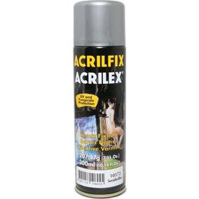 10un Acrilfix Verniz Fixador Semibrilho 300ml. - Acrilex