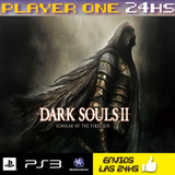 Dark Souls 2 Scholar Of The First Sin Ps3 Digital Liquido Ya