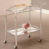 Muebles Para El Hogar Coaster 910077 Sirviendo La Cesta Chro
