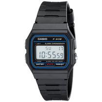 Casio F91w-1 Reloj Deportivo Digital Clasico Correa Resina
