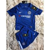 Uniforme Infantil Do Chelsea Azul Novo - Promoção Especial 3f2f25f4caf9f