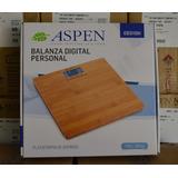 Balanza Digital Plataforma De Bamboo Aspen Eb3110h