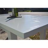 mesa extensible 160 a 210 laqueada madera maciza - Mesas De Madera Maciza