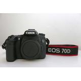 Camara De Foto Y Video Canon 70d