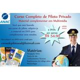 Curso De Piloto Privado Teorico 100% Online Ead