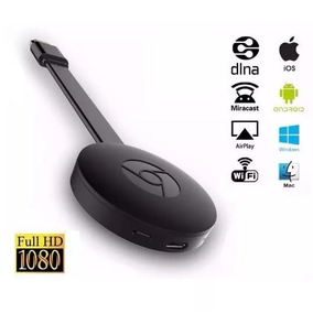 Google Dongle Full Hd 1080p Anycast Wecast Miracast Chrome
