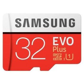 Cartao Micro Sd Sdhc Samsung Evo Plus 32gb C10 95mb/s Uhs-1