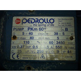 Bomba Para Agua 0.5 Hp De Pedrollo