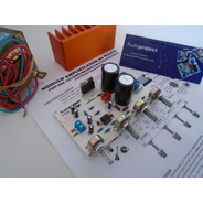 Modulo Amplificador 60 W C/ Preamplificador Trafo Disipador