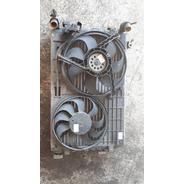 Radiador+ventoinha+condensador Polo 03 Original Usado V2126