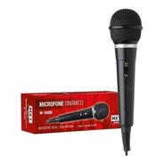 Microfone Plástico Barato M-1800b Mxt + Cabo 3,0 Metros