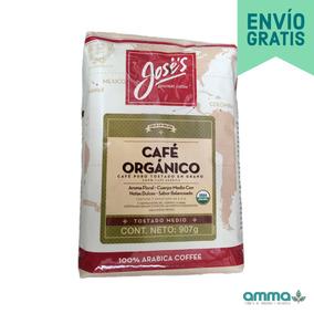 Café Puro Tostado Orgánico En Grano Jose
