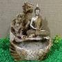 Fonte Água Buda Hindu Yoga 3 Quedas Cascata Decoração Pedras