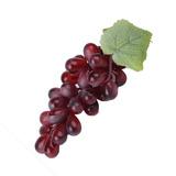 Fruta Artificial Cacho De Uvas Vermelhas Festa Decoração