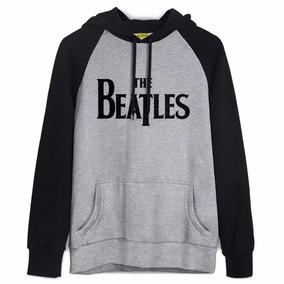 Moletom Raglan Bandup! Bandas The Beatles - Mega Promoção!