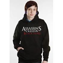Blusa Canguru Assassins Creed Otima Qualidade!!!